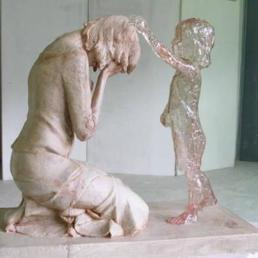 mother and invisible born child