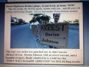 ferguson arrest dorian johnson