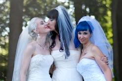 LOVE AT THIRD SIGHT: MEET THE WORLD'S FIRST MARRIED LESBIAN THROUPLE