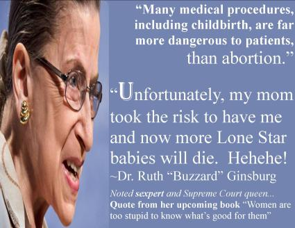 ruth buzzard ginsberg planned parenthood scotus supreme