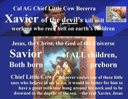 little cow xavier vs savior Jesus