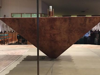pyramid altar