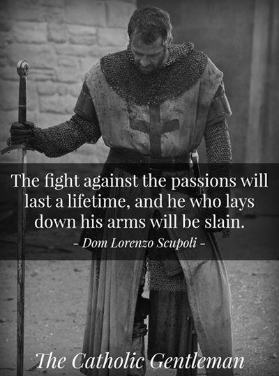 man2man christian gentleman with a sword