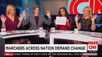 hands up dont shoot cnn anchors