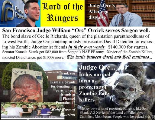 judge william orrick orc planned parenthood contempt skank xavier
