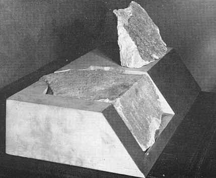 giza capstones recovered pyramid