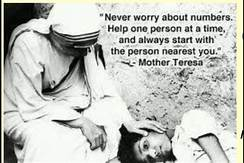 mother teresa on how to do it
