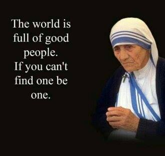mother theresa on good people