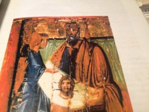 st jude with king agbar v and leprosy healing