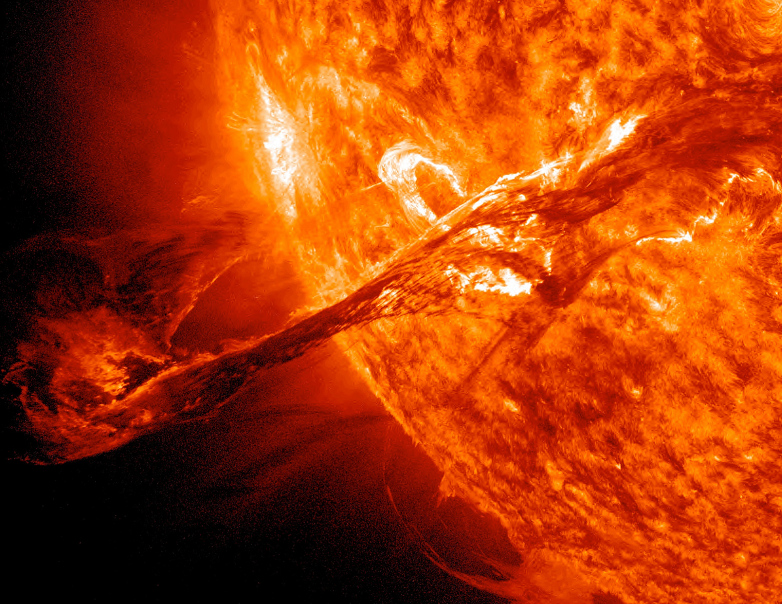 sun with flares