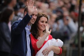 Kate and william royal with new son