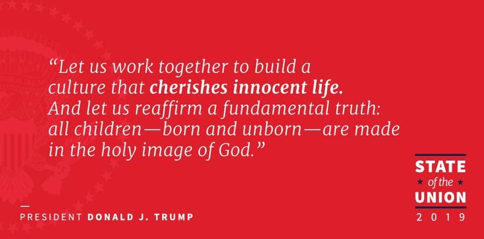 trump on life