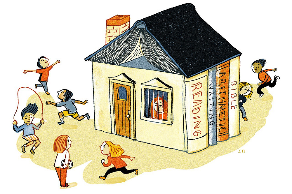 homeschooling is a choice risks of homeschooling harvard