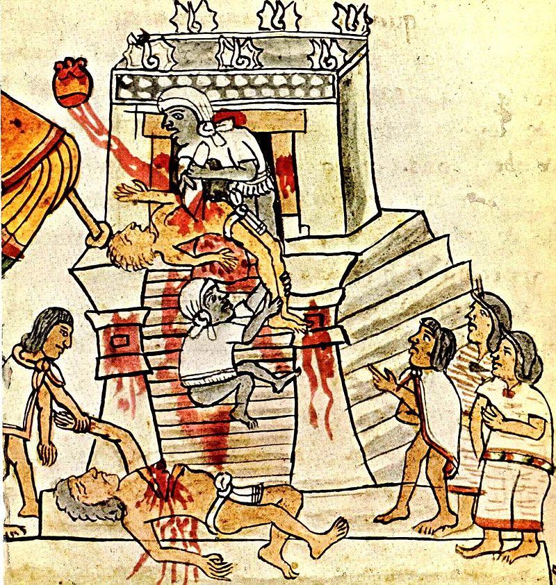 aztec temple ritual