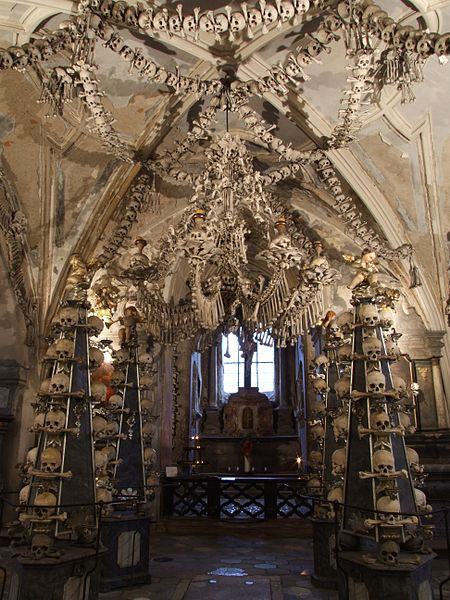 Bone church kostnice sedlec