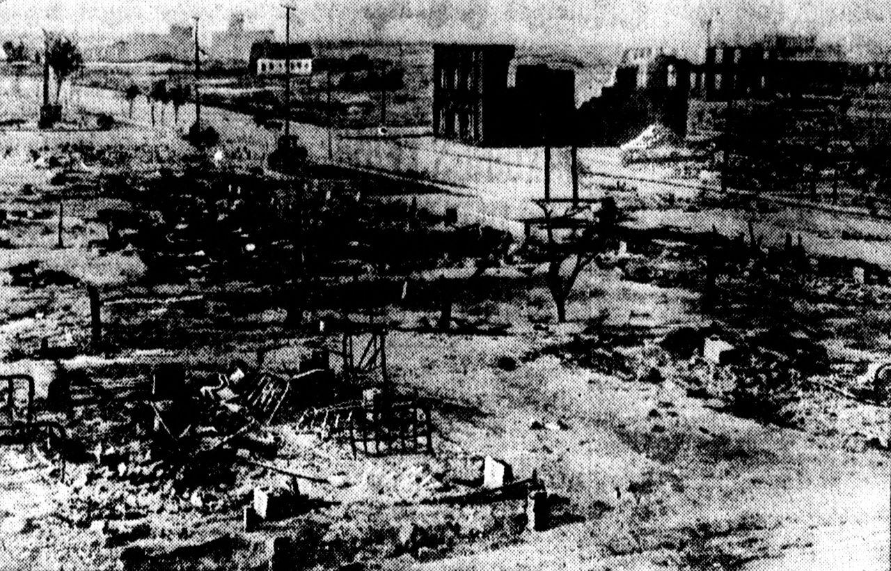 tulsa riot devastation